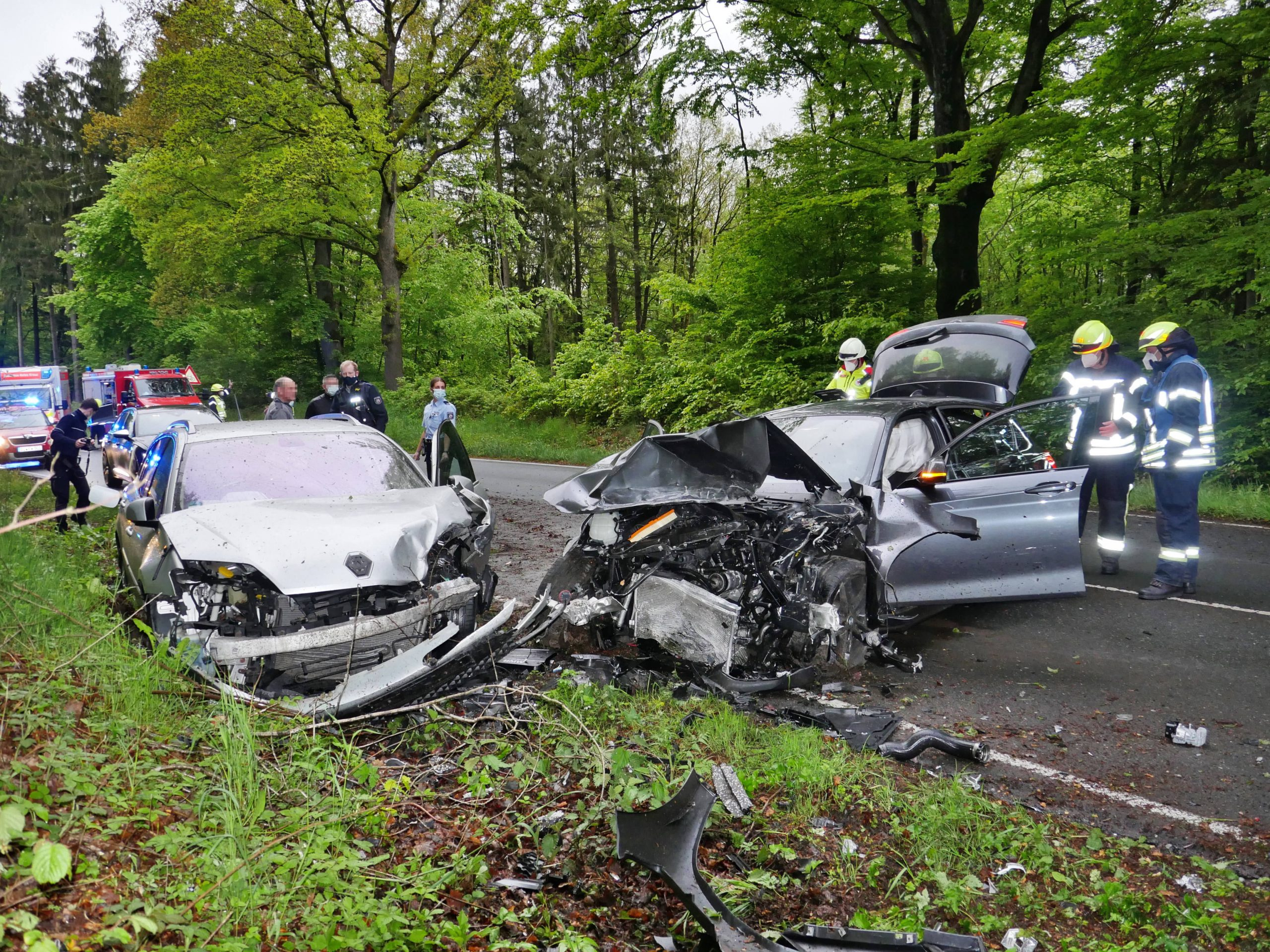 Schwerer Verkehrsunfall auf der Eremitage