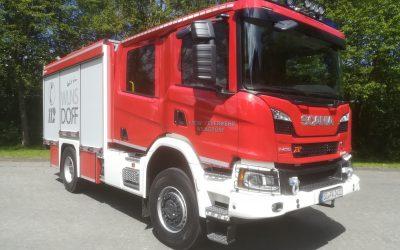 Feuerwehr Wilnsdorf stellt hochmodernes Tanklöschfahrzeug in Dienst