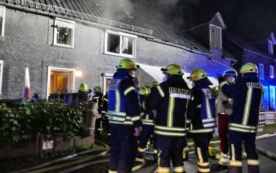 Zimmerbrand in Wilgersdorf