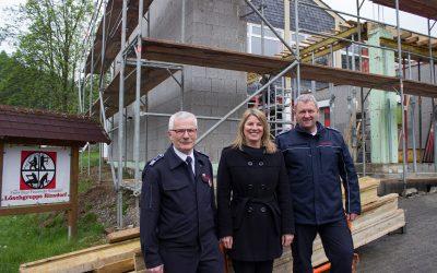 Feuerwehrgerätehaus Rinsdorf wird um- und angebaut